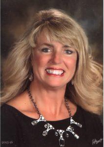 Principal of Mona Shores High School Jennifer Bustard